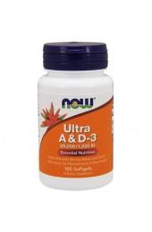 NOW Ultra Vitamin A&D3 25000/1000 100 софтгель В НАЛИЧИИ