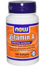 NOW Vitamin A 10000 IU 100 softgel