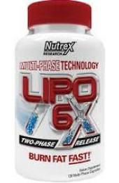 Nutrex Lipo-6X 120 капсул