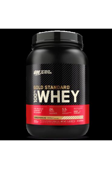 Optimum Gold Standard 100% Whey 909 г Французский ванильный крем