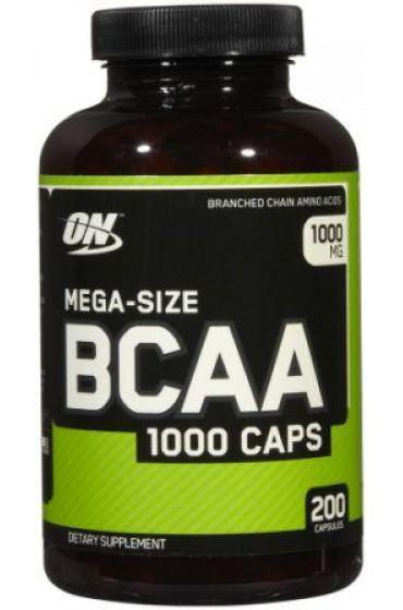 ON BCAA 1000 Caps 200 капсул