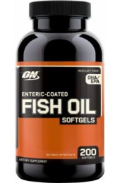 ON Fish Oil Softgels 200 капсул