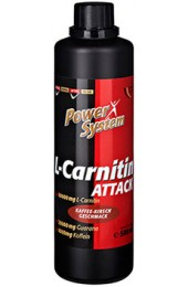 Power System L-Carnitin Attack 500 мл