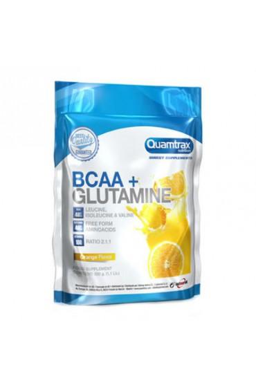Quamtrax BCAA + Glutamine 500 г Лимон