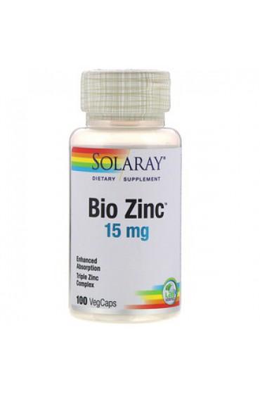 Solaray BioZinc 15 мг 100 капсул