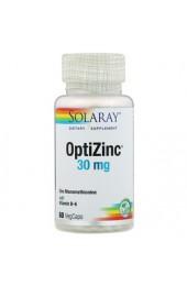 Solaray OptiZinc 30 мг 60 растительных капсул