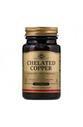 Solgar Chelated Copper 100 таблеток