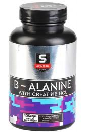 SportLine B-Alanine + Creatine HCL 125 капсул