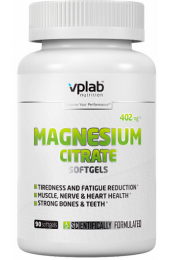 VPLab Magnesium Citrate 90 гелевых капсул